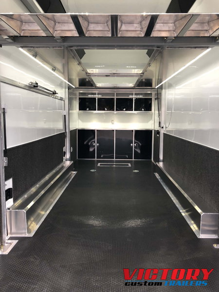 ATC 24' Aluminum Stacker with Escape Door