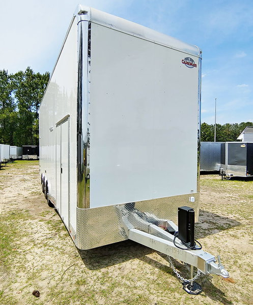 2020 8.5x28 Cargo Mate ALL ALUMINUM STACKER Loaded