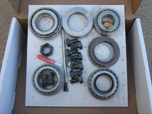 GM 12 Bolt CAR Eaton TrueTrac POSI - GEARS - BEARING KIT PAC  for Sale $675