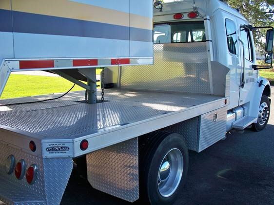 Clean Freightliner & Trailer Combo  for Sale $59,900