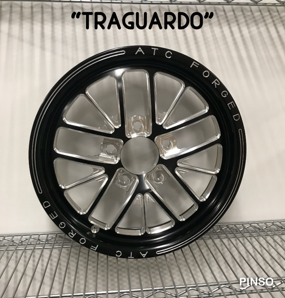 ATC FORGED Front Drag Racing Wheel  for Sale $599.99