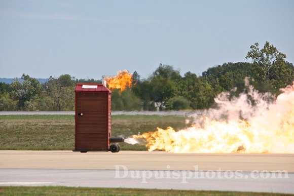 Original Jet Powered Outhouse  for Sale $15,000