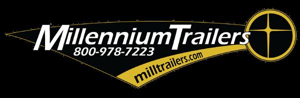 2019 53' Black Millennium 2-Car Hauler