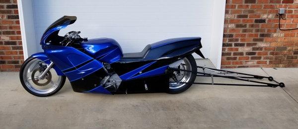 Small tire Kawasaki Dragbike   for Sale $6,995