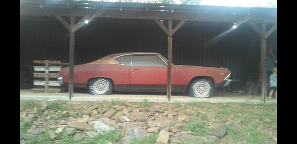 1969 Chevrolet Chevelle  for Sale $10,000