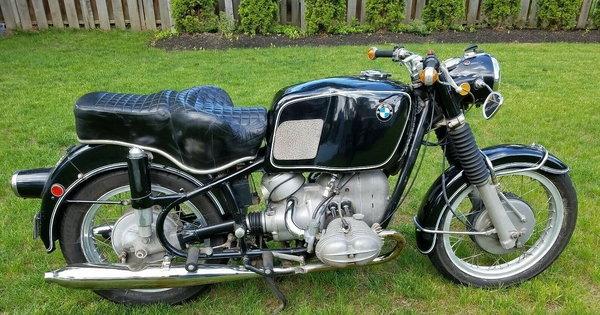 1968 BMW R60/2  for Sale $17,500