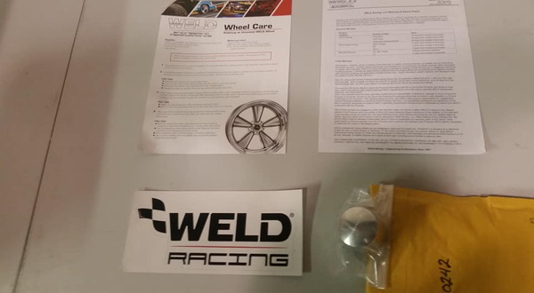 WELD Magnum dragster front wheels  for Sale $545