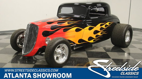 1934 Ford 3-Window Coupe  for Sale $81,995