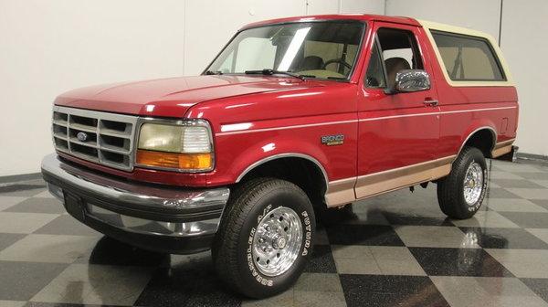 1994 Ford Bronco 4X4 Eddie Bauer  for Sale $23,995