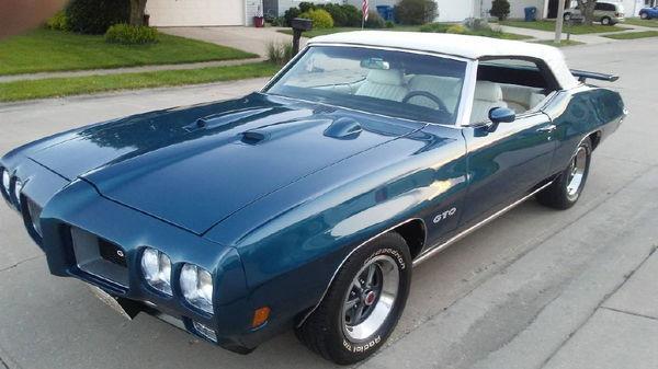 1970 PONTIAC GTO  for Sale $59,949