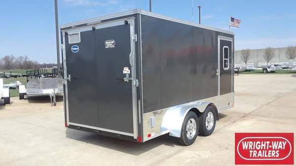 2020 United Trailers 7x14 Motorcycle Trailer Motorcycle