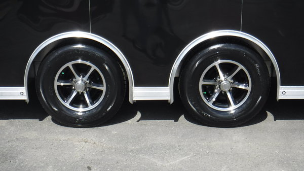 2019 24' Aluminum  Spread Axle Race Trailer by Sundowner Tra