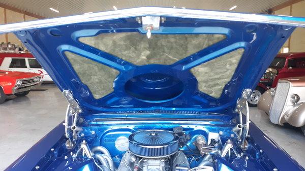 1966 chevy nova II pro street with a rear seat.trade