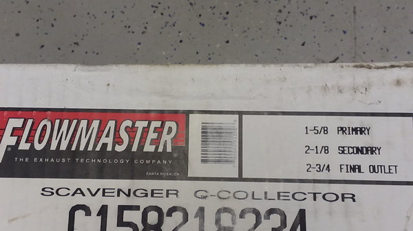 FLOWMASTER C158218234 SCAVENGER TRI-Y COLLECTORS  for Sale $150