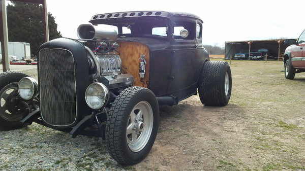 1930 BLOWN COUPE