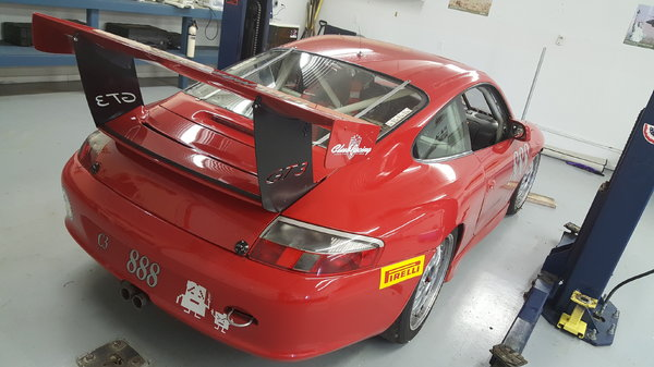 2001/2004 Porsche GT3 Cup GTC3  for Sale $50,000