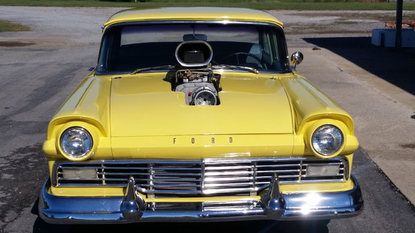 1957 ford custom 300 blown
