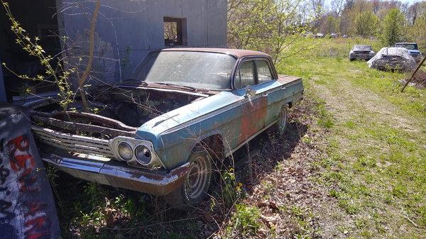 1962 Chevrolet Biscayne  for Sale $6,500