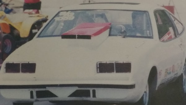 CHEVY MONZA DRAG CAR AND TRAILER  for Sale $15,000