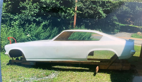 NEW FIBERGLASS VEGA FUNNY CAR BODY   for Sale $1,500