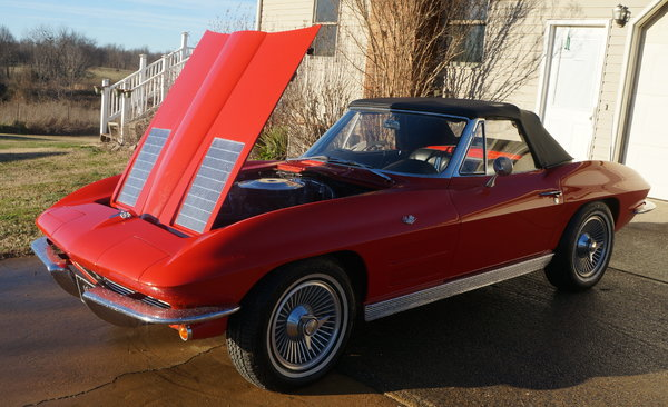 1963 Corvette Convertible  for Sale $50,000
