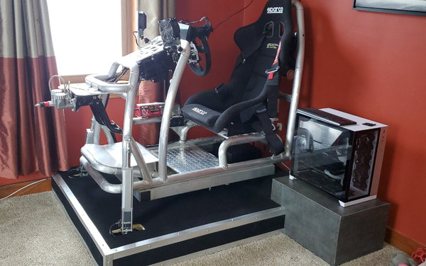 Custom built 2DOF w/traction loss and harness tensioner  for Sale $10,000