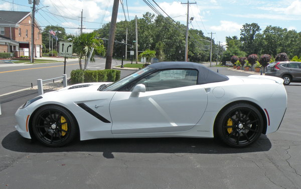 2014 Corvette Stingray Conv. #1 Callaway Z51 Performance Pac  for Sale $69,000