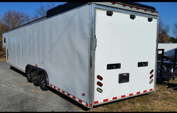 42 foot haulmark gooseneck race trailer.  for Sale $18,500
