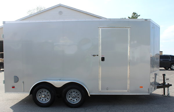 2020 7'x14' Cargo Trailer w/Double Doors
