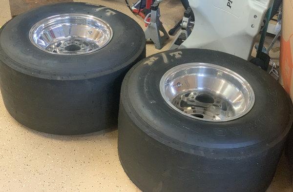 15x12 M/T Wheels & M/T Slicks   for Sale $1,500