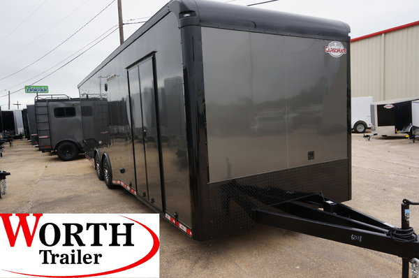 28FT. ENCLOSED RACING TRAILER  for Sale $25,325