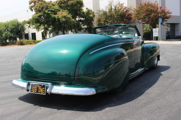 1947 Ford Custom Convertible  for Sale $64,900