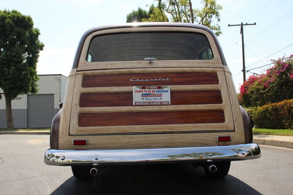 1950 Chevrolet Styleline Deluxe Tin Woody  for Sale $36,900