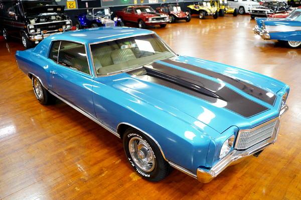 1970 Chevrolet Monte Carlo  for Sale $34,900