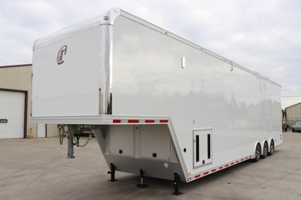 2019 inTech 42' Aluminum Gooseneck Sprint Car Trailer