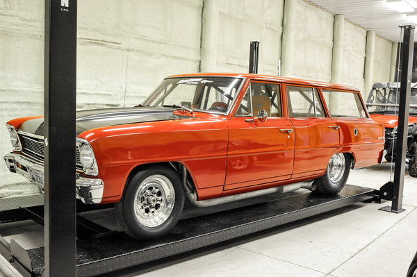 1966 Chevy II Wagon Drag or Pro Street WITH TITLE