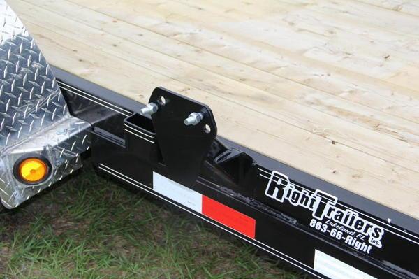 7x18 PJ Trailers   Car Hauler [C4]