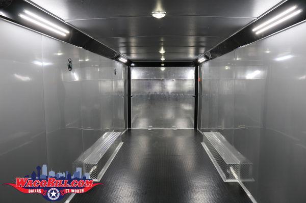 32' Auto Master Charcoal Race Trailer @ Wacbill.com