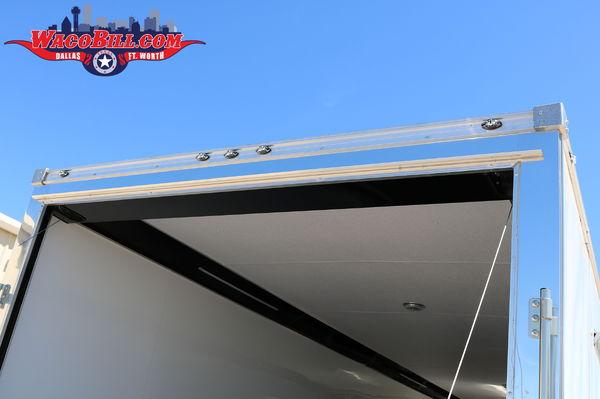 28' Cargo Mate/ Continental Nitro NOS Race Trailer