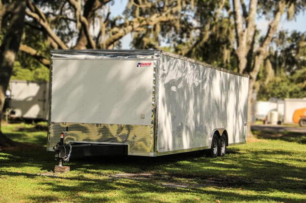 8.5x28 Pace American   Race Car Trailer  for Sale $12,999