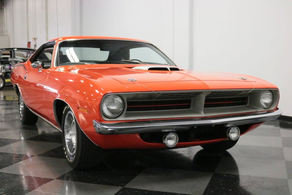 1970 Plymouth Cuda 440 6-Pack  for Sale $83,995