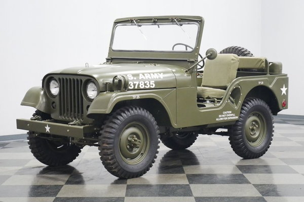 1952 Willys M38A1 Military Jeep  for Sale $48,995