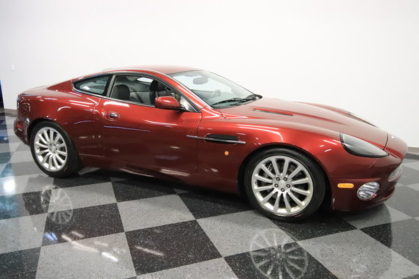 2002 Aston Martin Vanquish V12 Vantage  for Sale $61,995