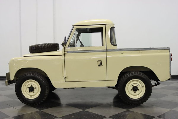 1966 Land Rover Series IIA SW  for Sale $33,995