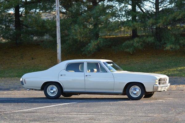 1971 Chevrolet Chevelle Malibu low miles  for Sale $12,800
