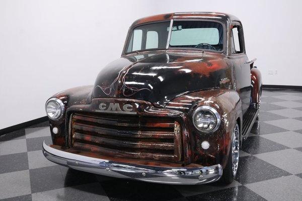 1952 GMC 3100 5 Window Patina  for Sale $27,995