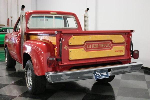 1979 Dodge Lil Red Express Adventurer D150  for Sale $24,995