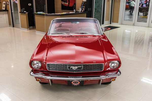 1966 Ford Mustang Convertible  for Sale $64,900