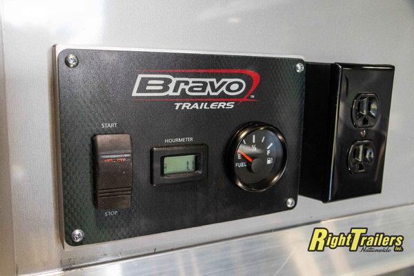 2021 8.5x34 Bravo Race Trailer