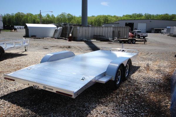 2019 ADAM 18ft Aluminum Open Car Trailer w/ 3,500lb. Axles